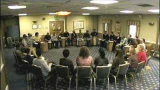 Team building drumming circle workshop(http://www.ActiveRhythmology.co.uk Active Drumming provide your drumming workshop for a corporate team building rhythm activity. Improvised drumming ..., 2008-06-04T17:13:04.000Z)