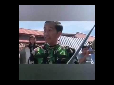 PRESIDEN JOKOWI MENANGIS -  KORBAN TSUNAMI DAN GEMPA DI PALU 7,7 SR