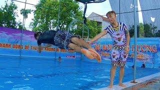 PHD | Thử Thách Nhảy Chui Qua Vòng Tròn | Jump Ring