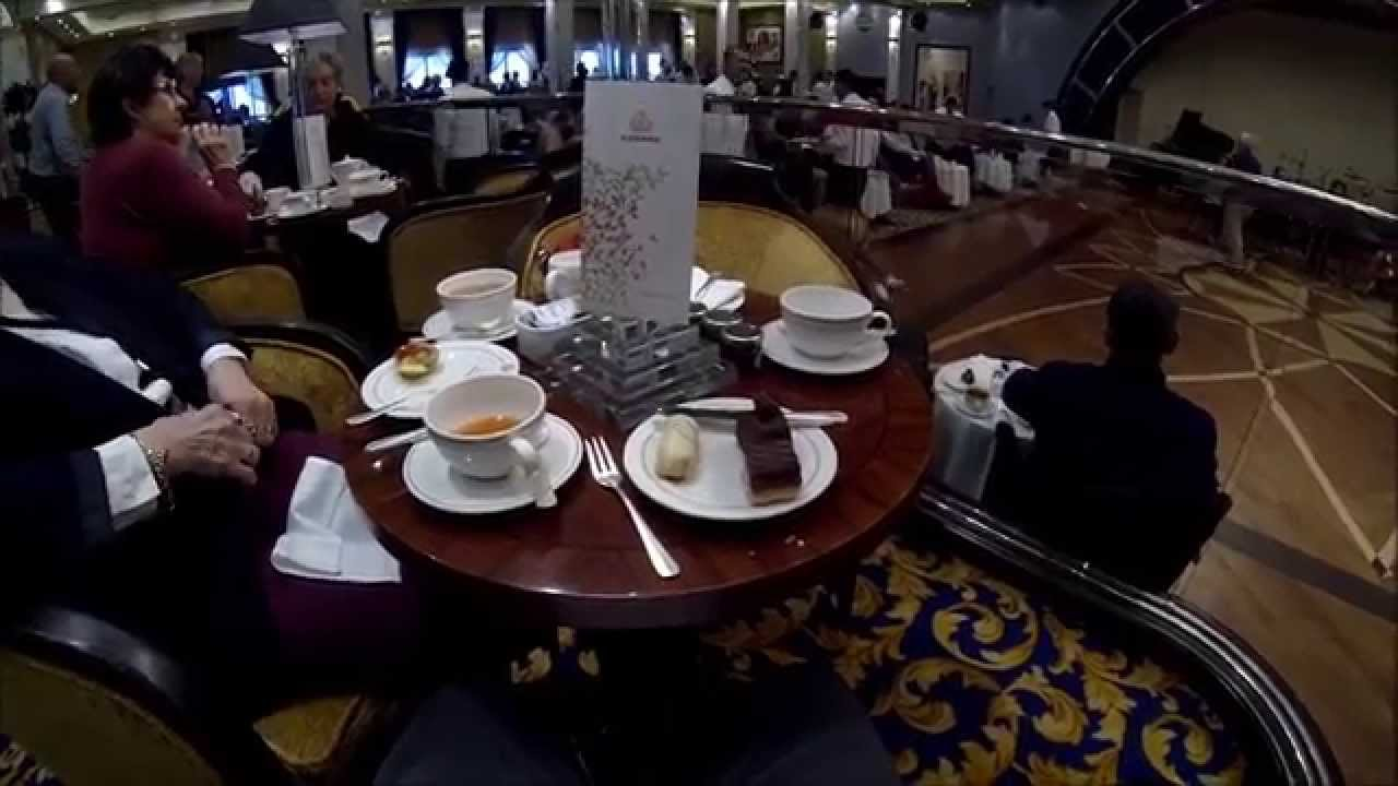 Queen Mary 2 QM2 Afternoon Tea | Virtual Luxury Network / Cruise ...