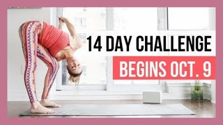 DOORS OPEN - Join the 14-Day Yin & Yang Yoga Challenge!