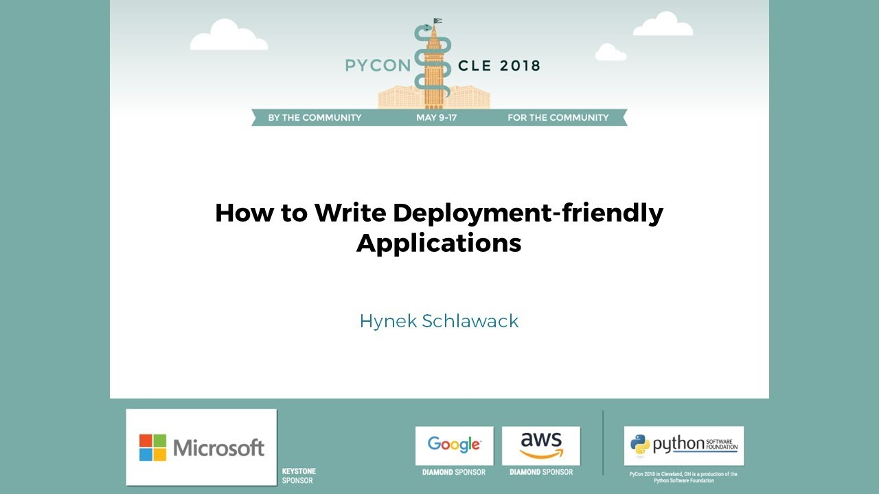 Image from How to Write Deployment-friendly Applications
