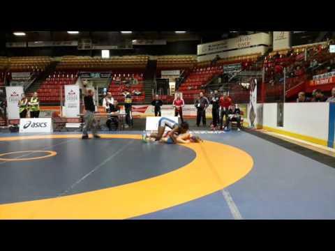 2016 Canadian Senior Championships: 63 kg Final Jessica Brouillette vs. Temitope Ogunjimi