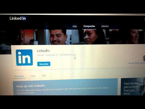 IT jobs and Linkedin job search