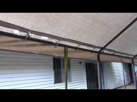 Carport Canopy Replacement