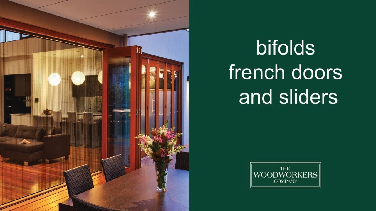 & Solid timber French doors Sliding doors Bifolds - YouTube
