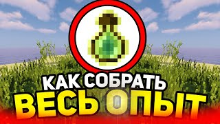 How to collect all the experience in minecraft?