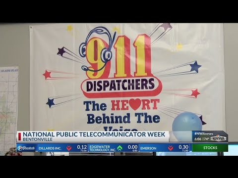 Dispatchers Honored for Service to Local Communities (KNWA)