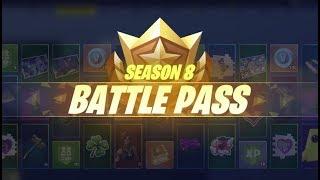 עונה חדשה - באטל פאס חדש, הנצחון הראשון בעונה 8, מפה חדשה, הר געש ועוד מלא דברים בפורטנייט !