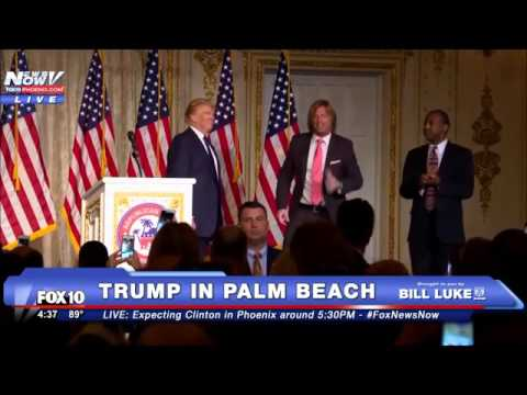Trump and Carson Together in Imperfect Harmony (Ebony and Ivory)