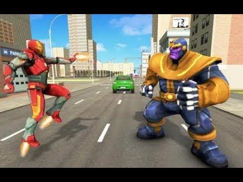 Infinity Superhero Revenge