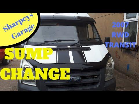 2007 Ford Transit Sump Oil Pan Change 2.4 RWD