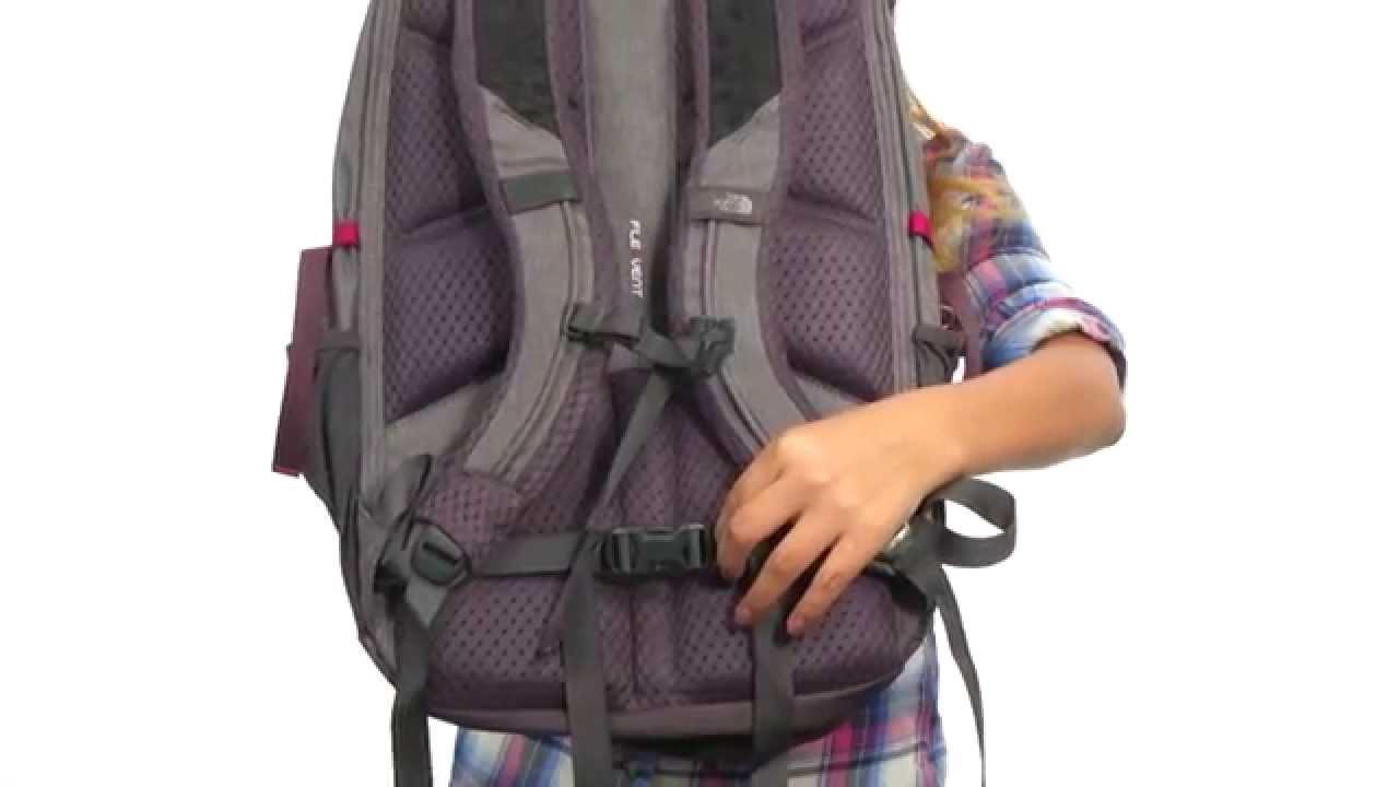 c75d9dd08 The North Face Womens Borealis Backpack Vaporous Grey Light Heather Rabbit  Grey