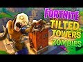 Fortnite: Tilted Towers Zombie Challenge (Call of Duty Custom Zombies)