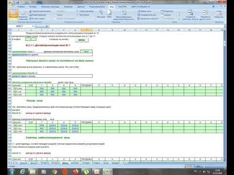 Оценка недвижимости. Доходный подход. Компьютерная программа,  созданная Зайцевым Ю.С.