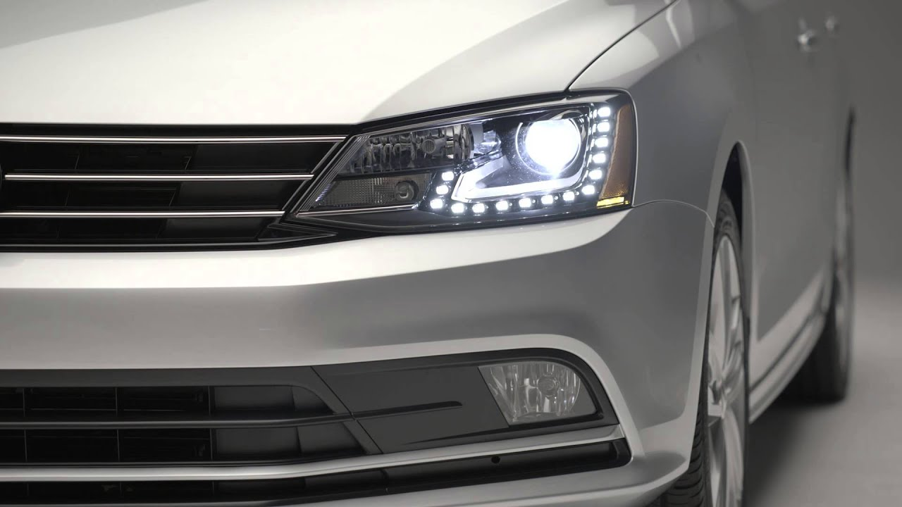 volkswagen jetta bi xenon headlights youtube