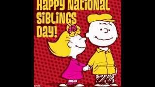 sibling day | National sibling day