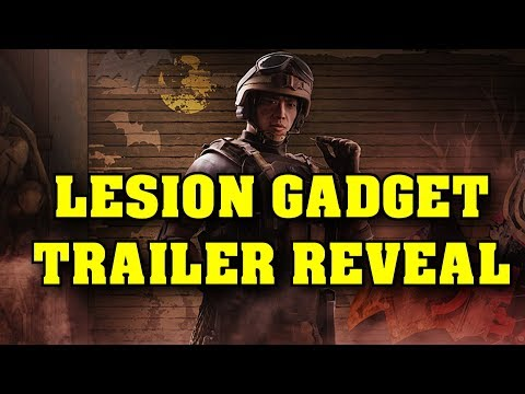 Rainbow Six Siege Lesion Gadget Trailer Reveal Weapons Loado