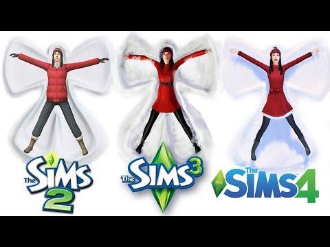 ♦ Sims 2 vs Sims 3 vs Sims 4 : Seasons - Winter
