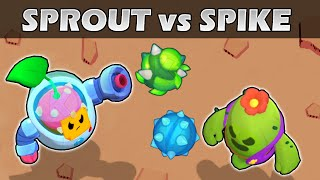 SPROUT vs SPIKE | 1vs1 | Brawl Stars Olympics