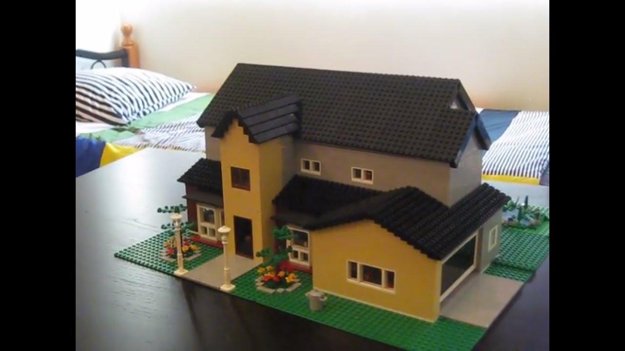 Moc Lego Mansion 3 Youtube