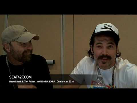Beau Smith & Tim Rozon WYNONNA EARP Interview Comic Con 2016