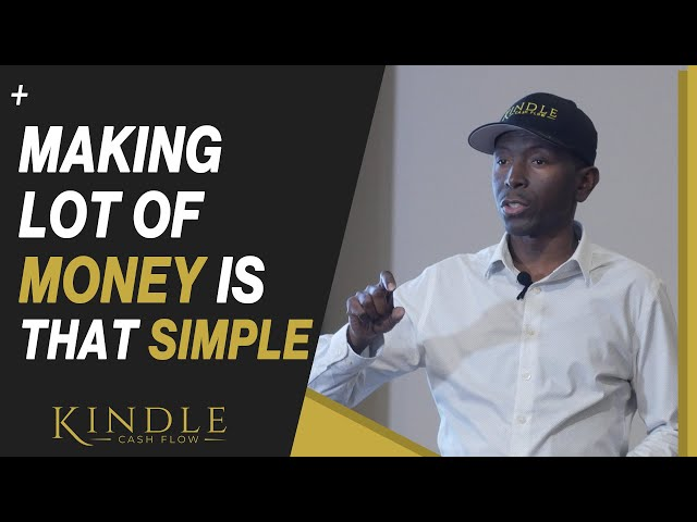 Making Lots of Money is this SIMPLE