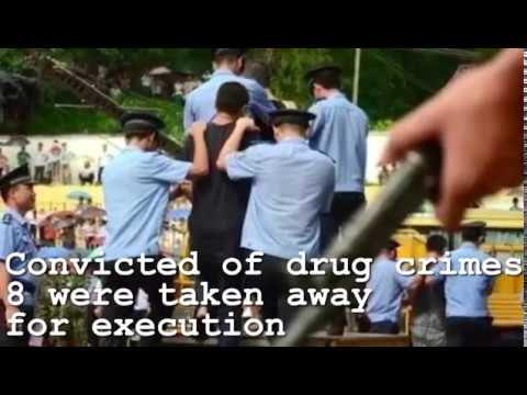 8 Executed for Meth Production in Guangdong