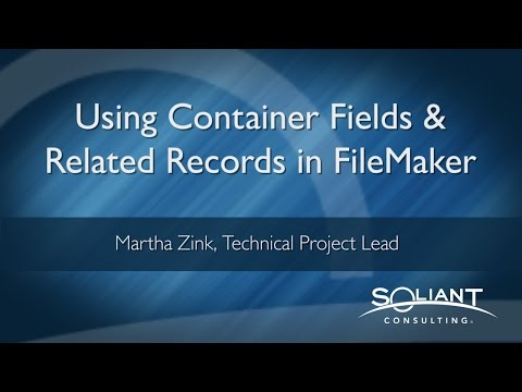 FileMaker Tip - How to Use Container Fields and Related Records