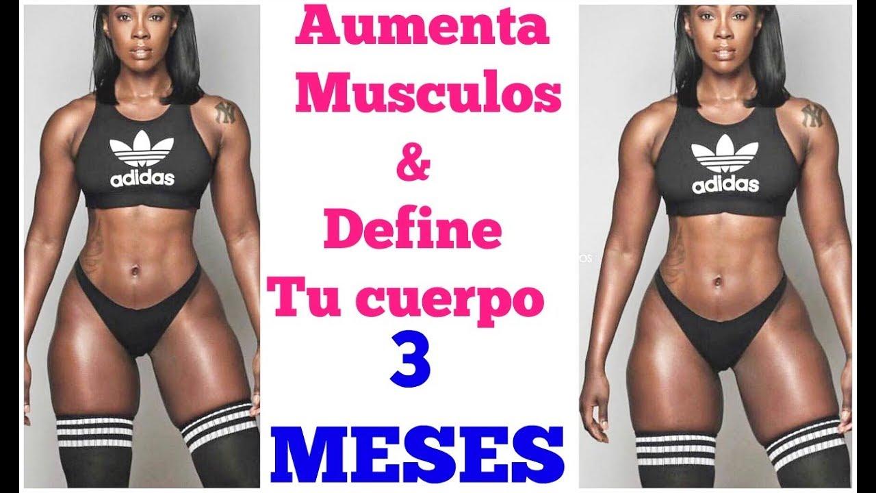 cuerpo fitness mujer en 3 meses