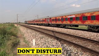 Silent WAG9 Tourist Special Train Jajan Patti