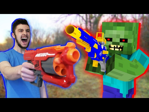 Thumbnail: Nerf War: Nerf meets Minecraft 2