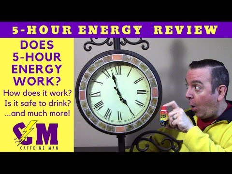 Does 5 Hour Energy Work? 5 Hour Energy Product Review