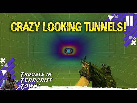 Crazy Looking Tunnels (GMOD Trouble In Terrorist Town)
