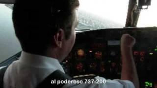 Ultimo Vuelo Comercial B737-200  en Aerolineas Argentinas