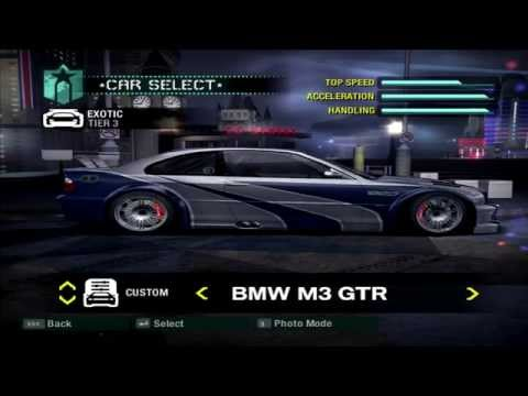 Need For Speed Carbon - All Official & Bonus Cars