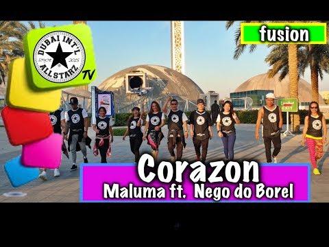 Corazon | Maluma Ft. Nego Do Borel  | Zumba® | Dhonz Librel III | Choreography | Dance