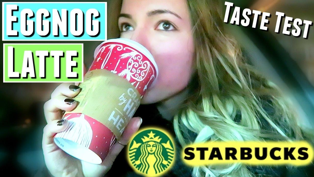 *NEW* STARBUCKS EGGNOG LATTE From Starbucks Coffee ~ …