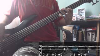 Rage Against The Machine - Bombtrack [Bass Cover + Tab]