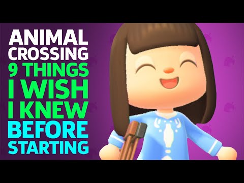 9 Things I Wish I Knew Before Starting Animal Crossing: New Horizons