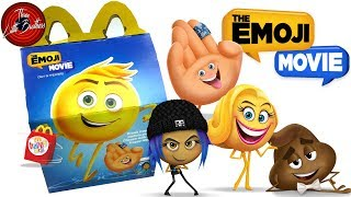 ЭМОДЖИ игрушки Хеппи Мил Макдональдс+КОНКУРС🙃сентябрь 2017🍟McDonald's Happy Meal Toys Emoji Movie