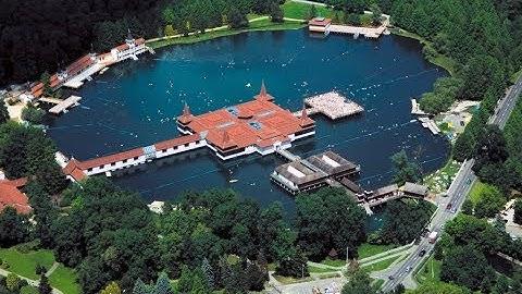 Hévíz am Balaton - Heilsee und Wellnes im goldenen Herbst  - Хевиз, лечебный курорт в Венгрии