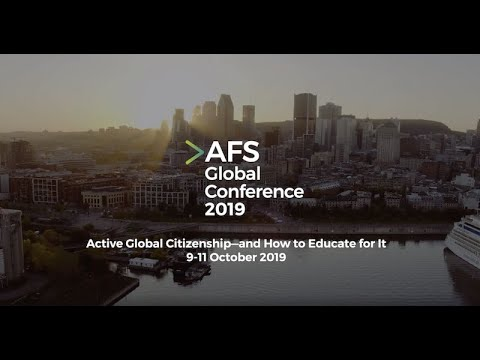 AFS Global Conference | Montreal, 9-11 October 2019