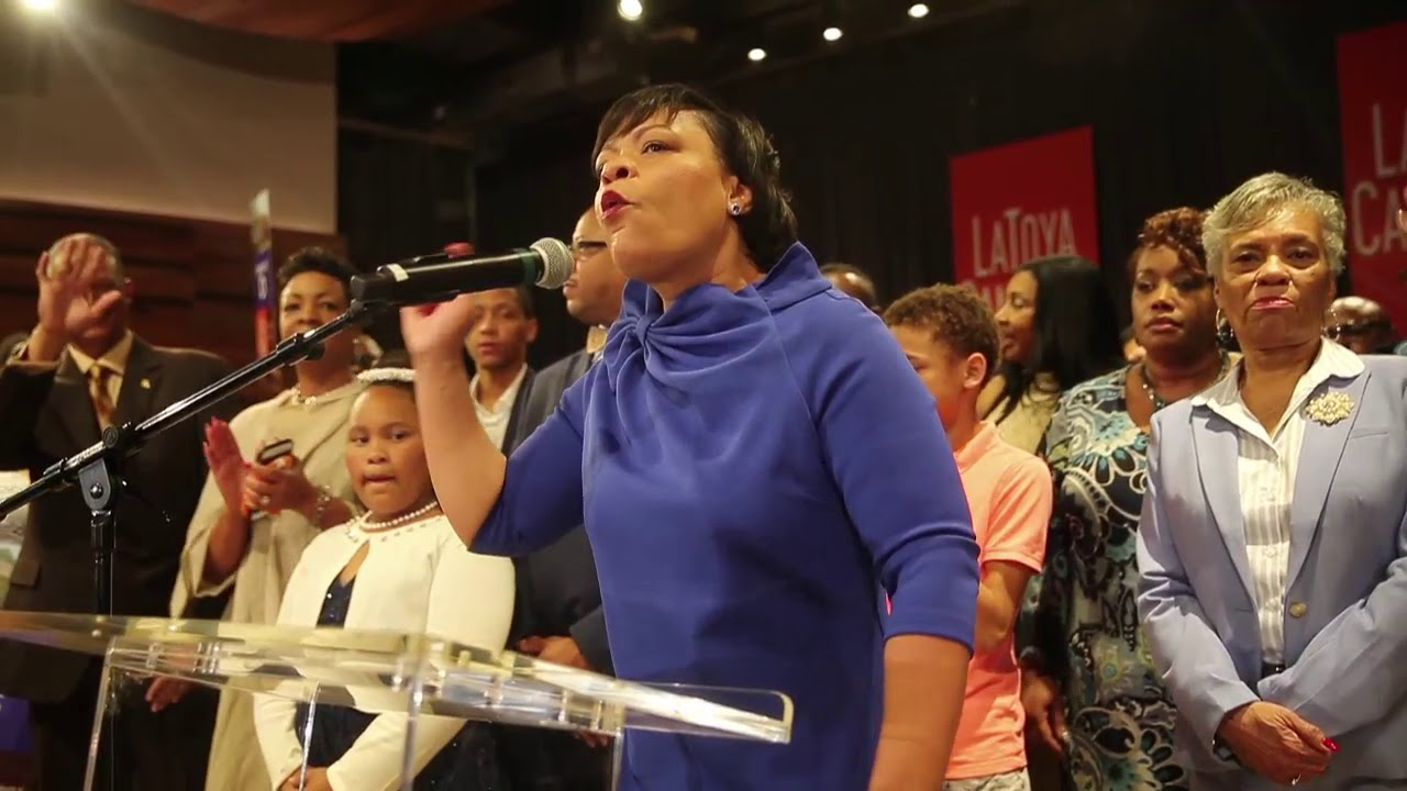Watch LaToya Cantrell's victory speech as New Orleans mayor-elect