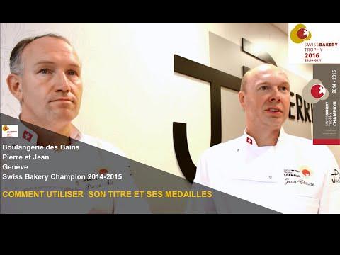COMMENT UTILISER SON TITRE ET SES MEDAILLES, Boulangerie des Bains, Pierre & Jean, Genève