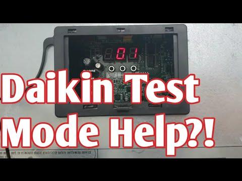 Daikin VRV 4 Test Mode & Tips