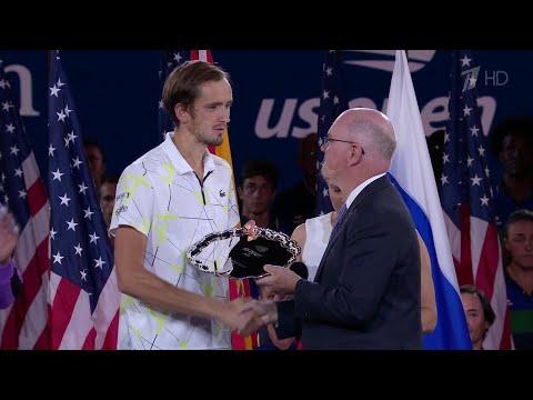 Россиянин Д.Медведев после финала Открытого чемпионата США по теннису поднялся на четвертое место.