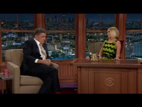 Carrie Keagan takes over the Late Late  with Craig Ferguson!