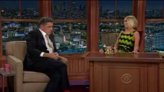 Carrie Keagan takes over the Late Late show with Craig Ferguson!