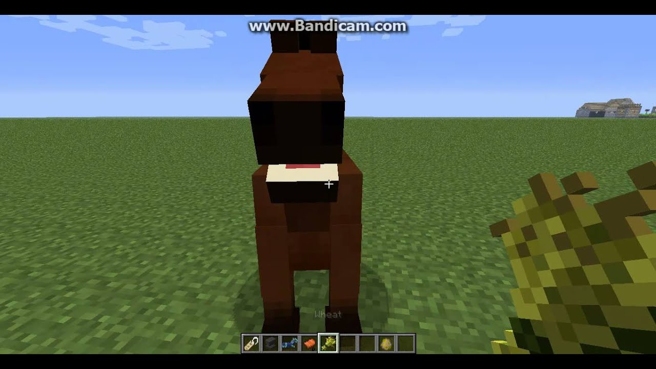 minecraft how to put a saddle on a horse youtube